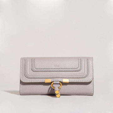 Chloé Marcie Wallet Medium Cashmere Grey