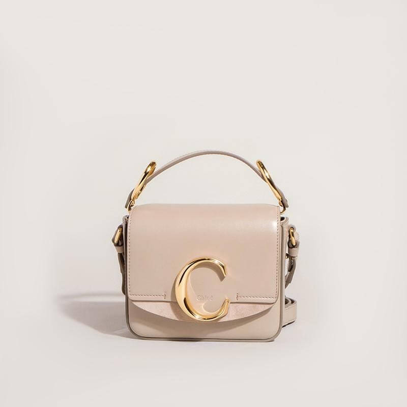 Chloé Chloé C Mini Motty Grey