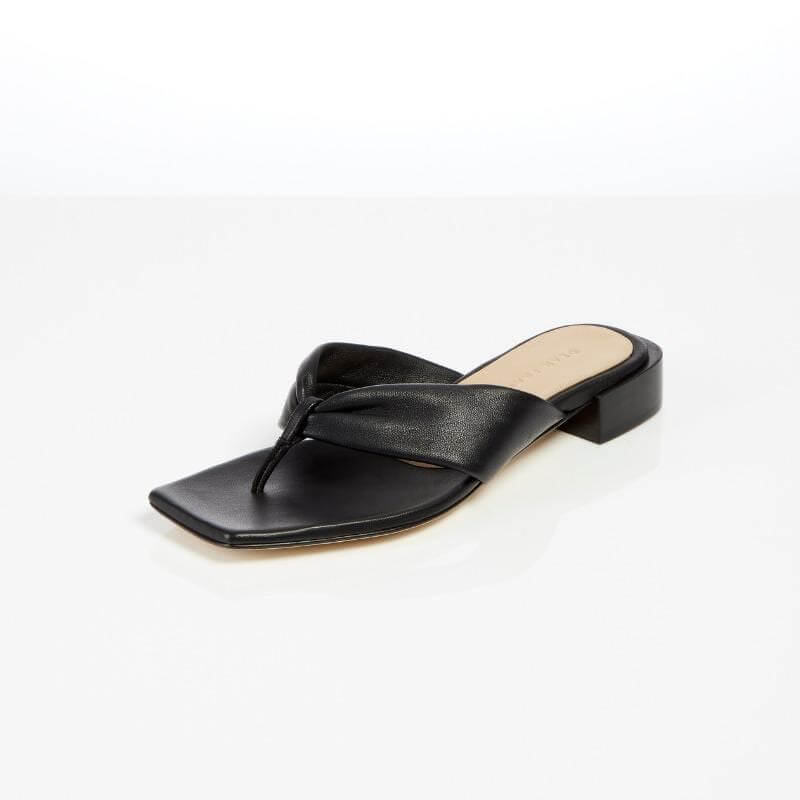 Dear Frances Wrap Sandal Black