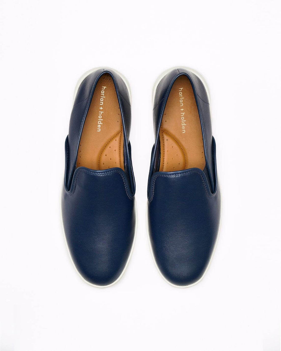 harlan + holden camino vegan - blueberry for women navy