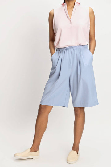 harlan + holden bermuda shorts buffer blue