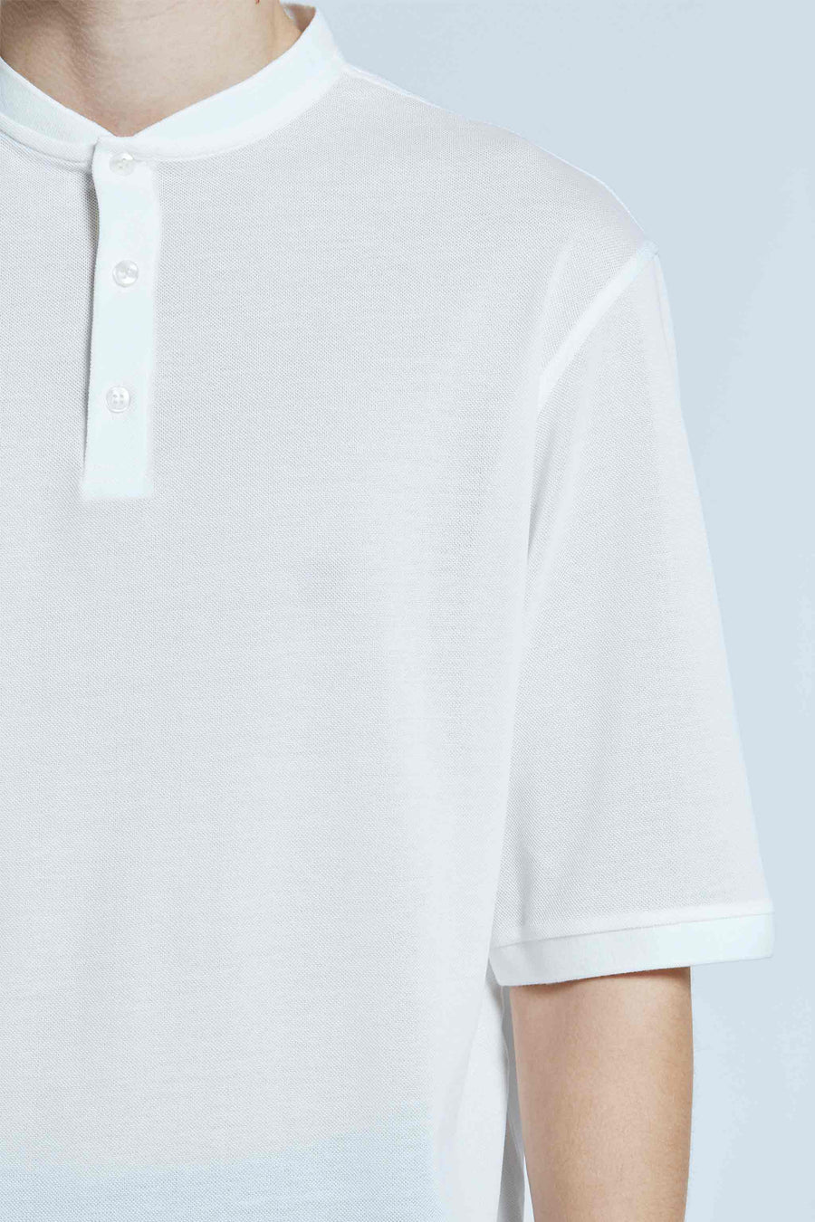 harlan + holden relaxed polo air white