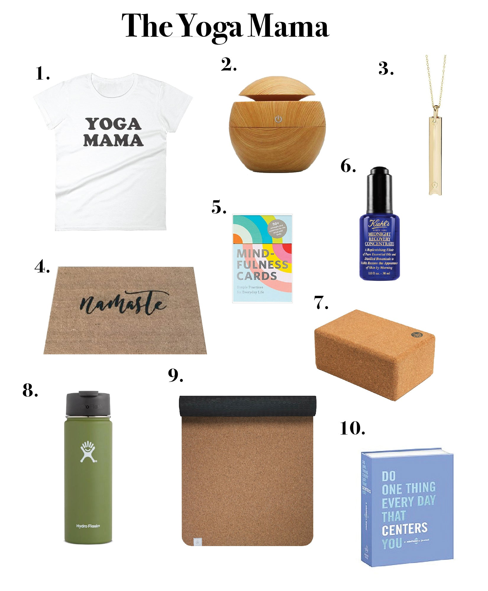 The Yoga Mama Gift Guide