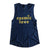 Cosmic Love Muscle Tank Ladies Foil