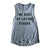 We Rise Muscle Tank Women's Heather