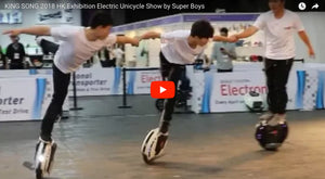 King Song 2018 HK Electric Unicycle Show