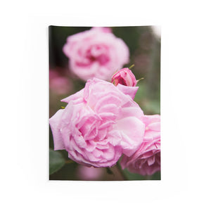 Indoor Wall Tapestries: Pink Flowers