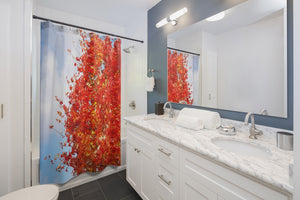 Shower Curtain: Fall Colors