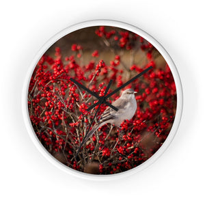 Wall clock: Birdie in the Bushes