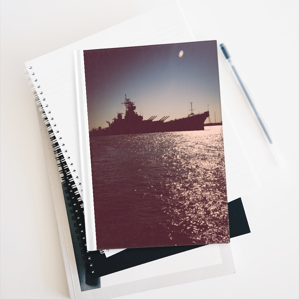Journal - Blank - Battleship New Jersey