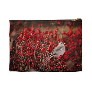 Accessory Pouch: Bird in the Berries