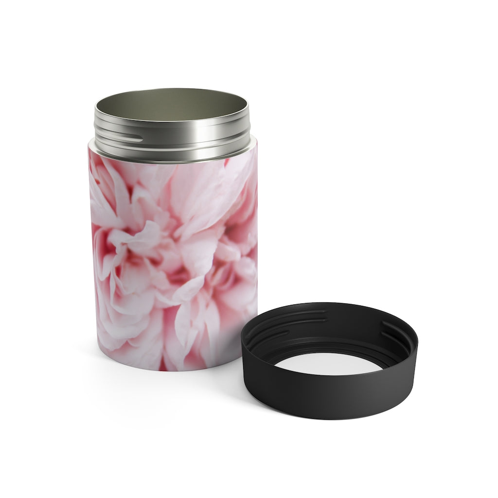 Can Holder: Pink Flower