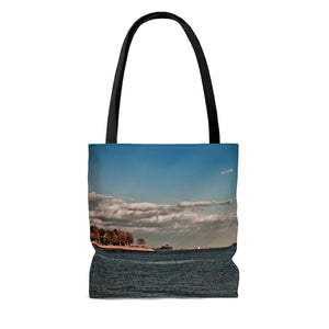 Tote Bag: Coastal Autumn Scene