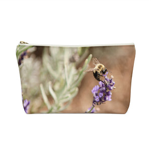 Accessory Pouch w T-bottom: Busy Bee