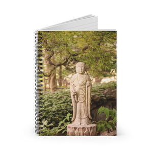 Spiral Notebook - Ruled Line - Woodland Zen