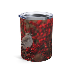 Tumbler 10oz: Birdie in the Berries