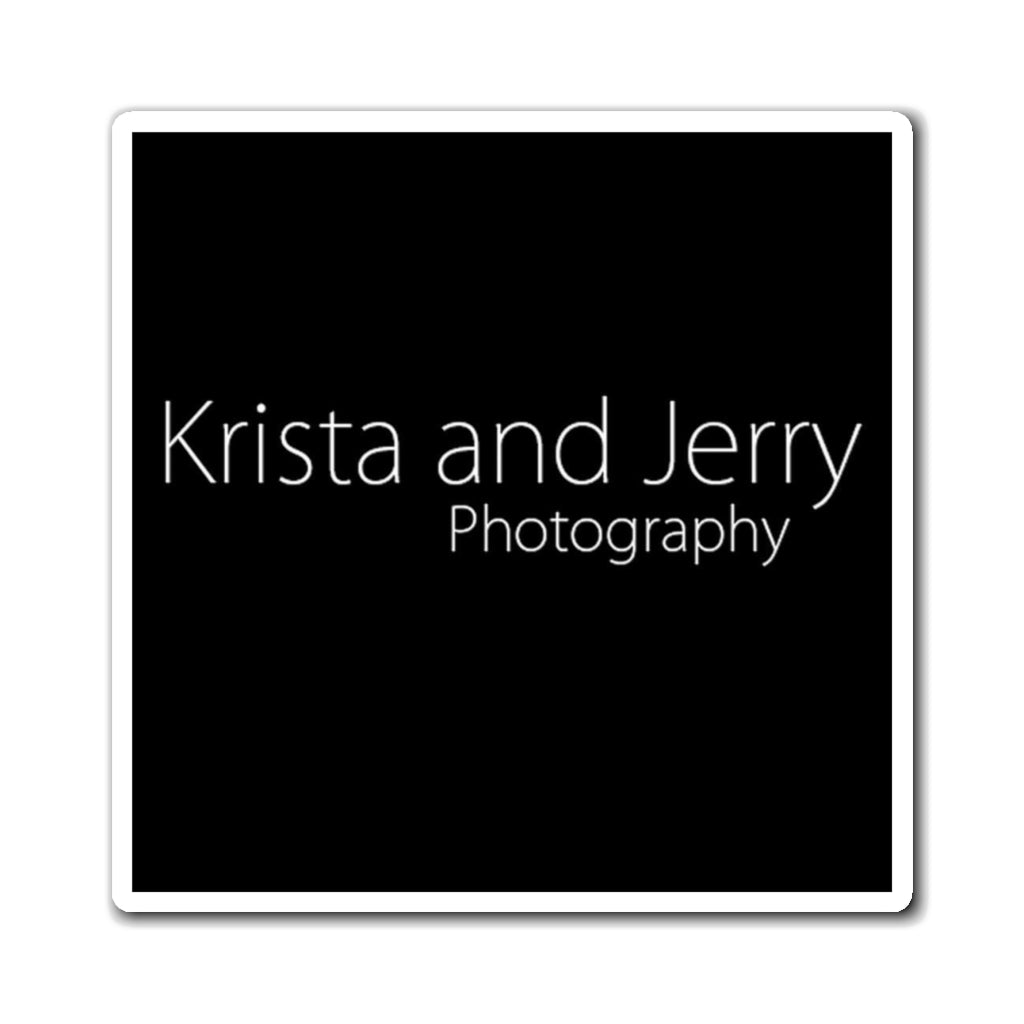 Magnets - Krista and Jerry Photography (black)