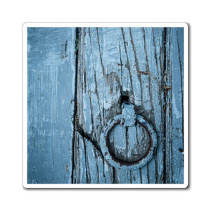 Magnets - Wooden Blue Door