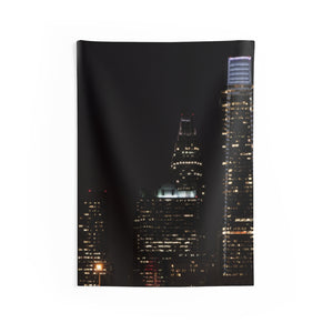 Indoor Wall Tapestries: Philly at Night