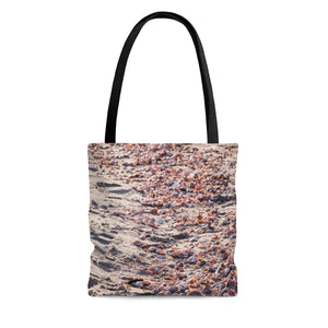Tote Bag: Pink Seashells