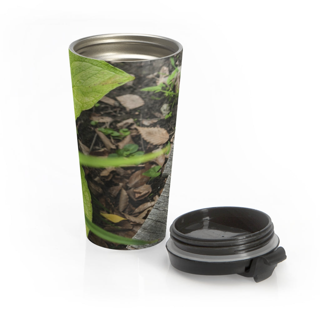 Stainless Steel Travel Mug: Spring Walk