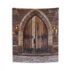 Indoor Wall Tapestries: Church Doors