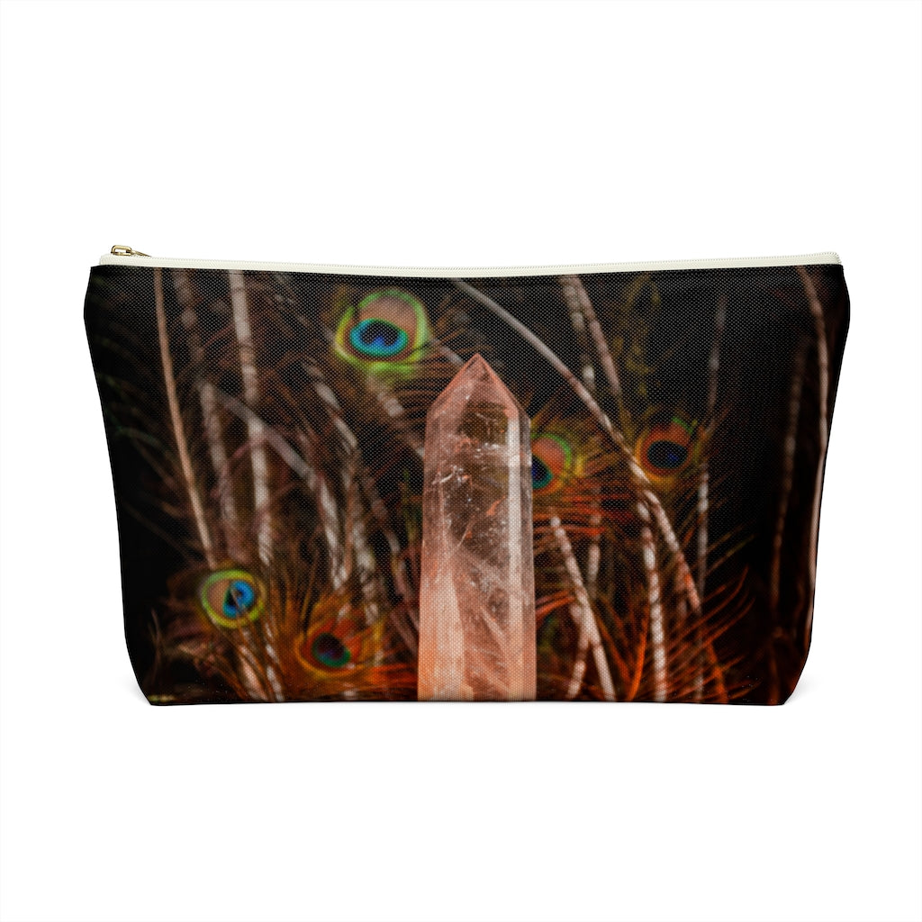 Accessory Pouch w T-bottom: Love and Light