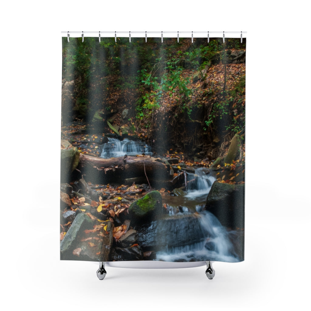 Shower Curtain: Stream