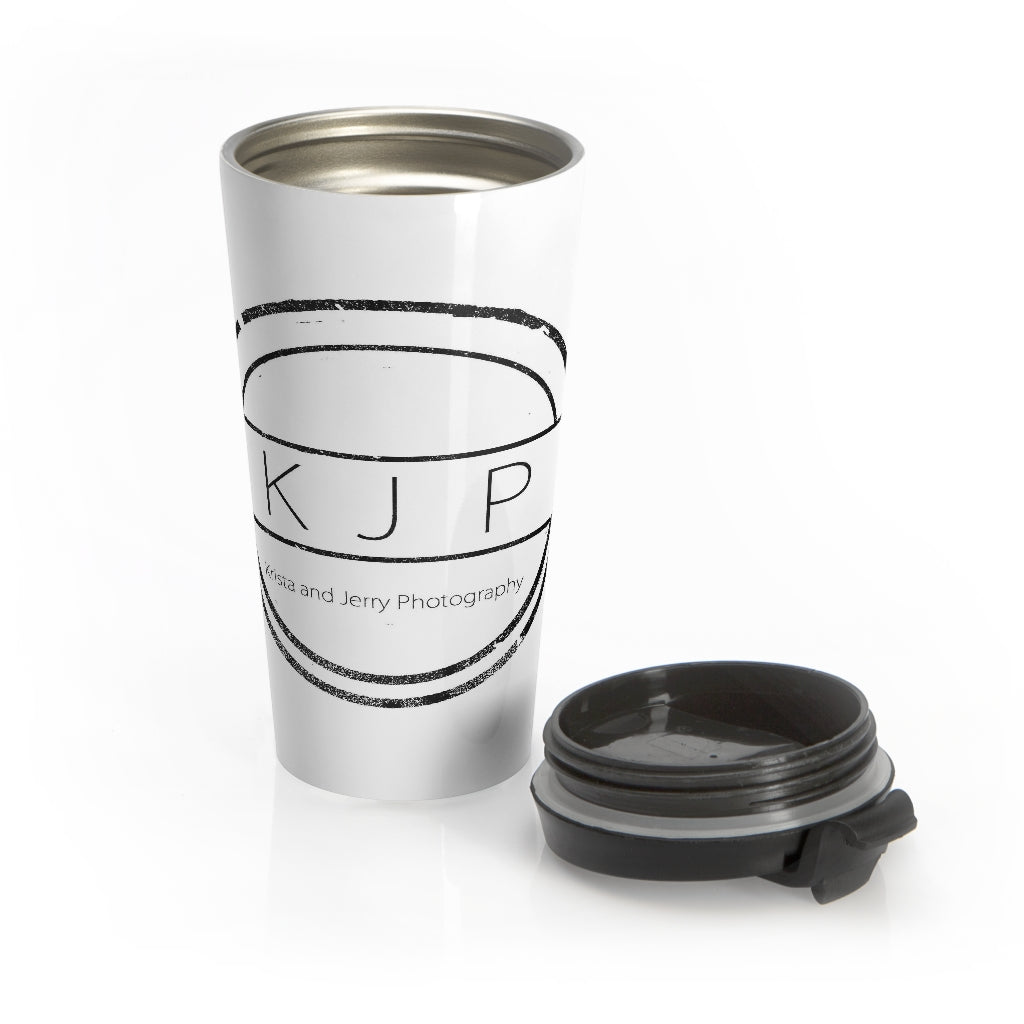 Stainless Steel Travel Mug: Krista and Jerry Photography