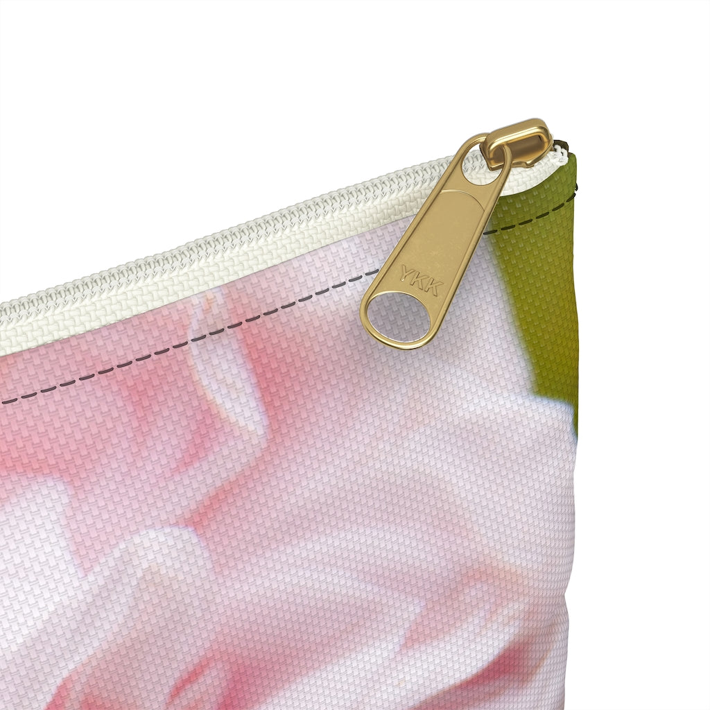 Accessory Pouch: Pink Flower