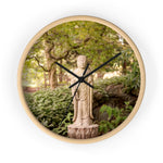 Wall clock: Woodland Tranquility