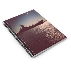 Spiral Notebook - Ruled Line - Battleship New Jersey
