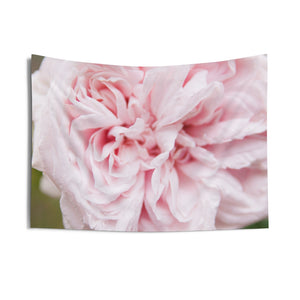 Indoor Wall Tapestries: Pink Flower