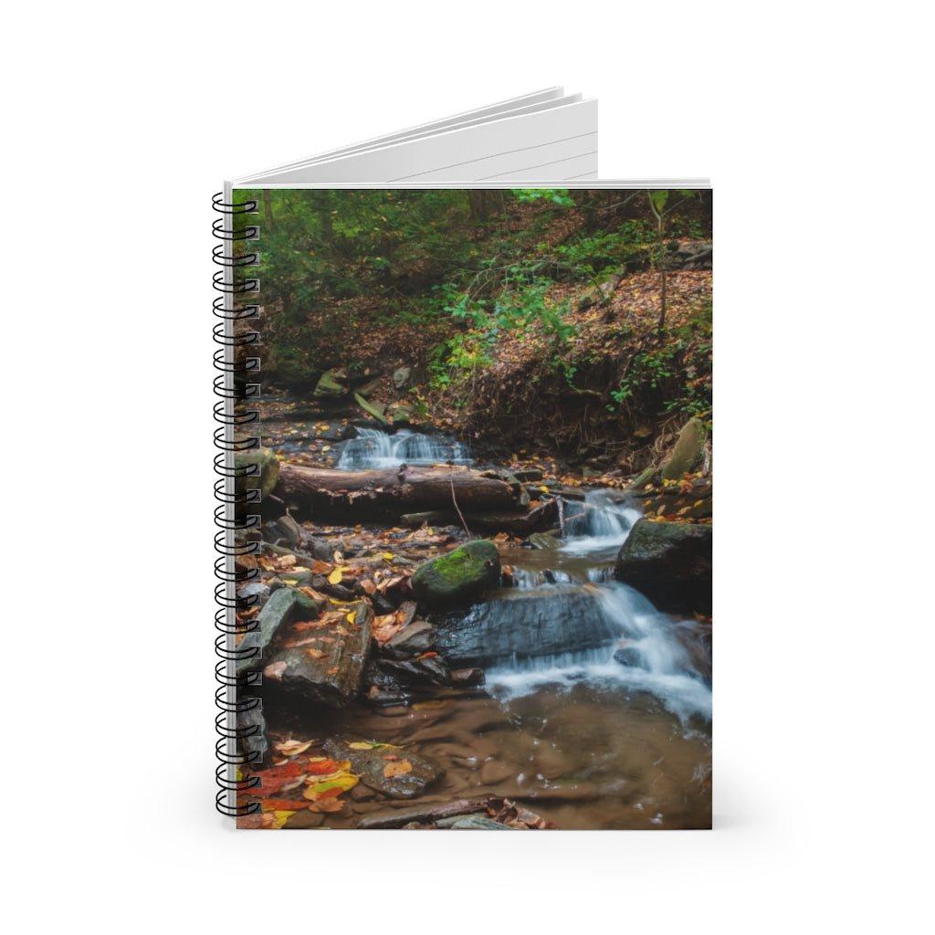 Spiral Notebook - Ruled Line - Babbling Brook