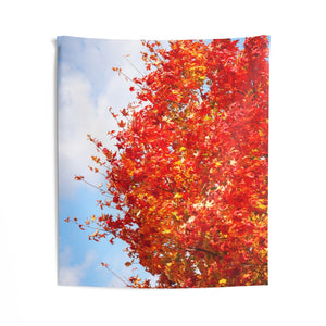 Indoor Wall Tapestries: Fall Tree