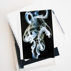 Journal - Ruled Line - Swirly Smoke