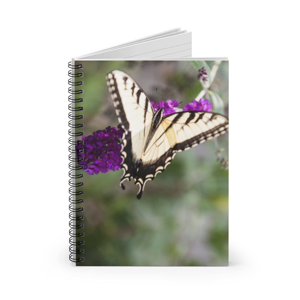 Spiral Notebook - Ruled Line - The Butterfly