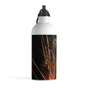 Stainless Steel Water Bottle: Love and Light