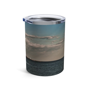 Tumbler 10oz: Coastal Autumn Scene