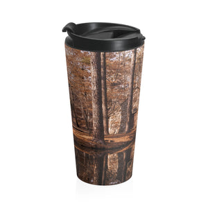 Stainless Steel Travel Mug: Water Mill