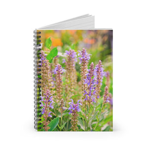 Spiral Notebook - Ruled Line - Spring Flowers