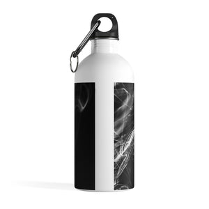 Stainless Steel Water Bottle: Swirly Smoke