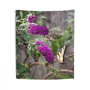 Indoor Wall Tapestries: Butterfly Bushes