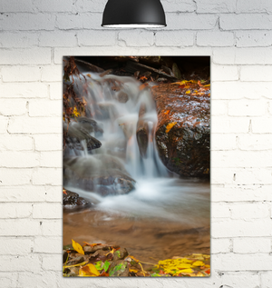Canvas Wrap - Waterfall in the Fall