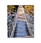 Canvas Wrap - Hanging Bridge Painting