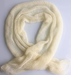 [weightless cashmere scarf] - unfold la scarf