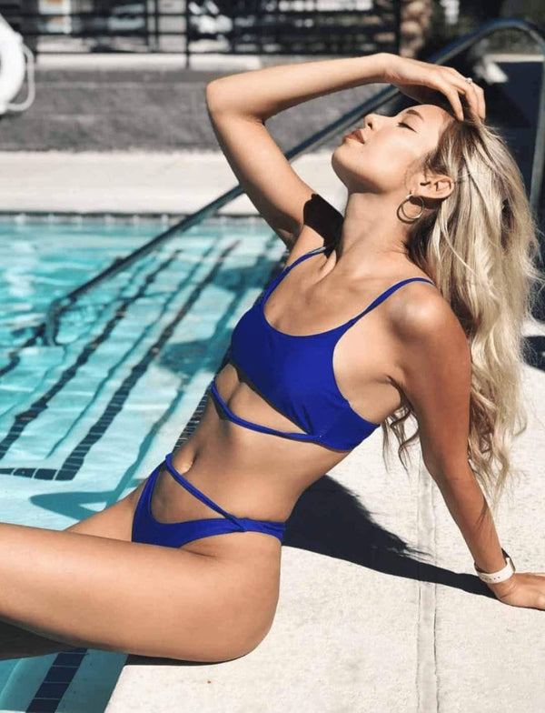 Zahara Swim Blue / L Destiny Set / Blue