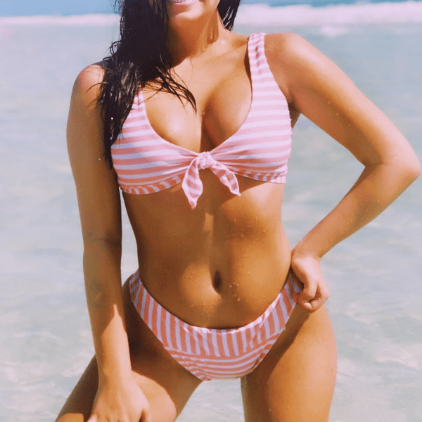 Zahara Swim Coral Pink / L Capri Set / Coral Pink - SOLD OUT