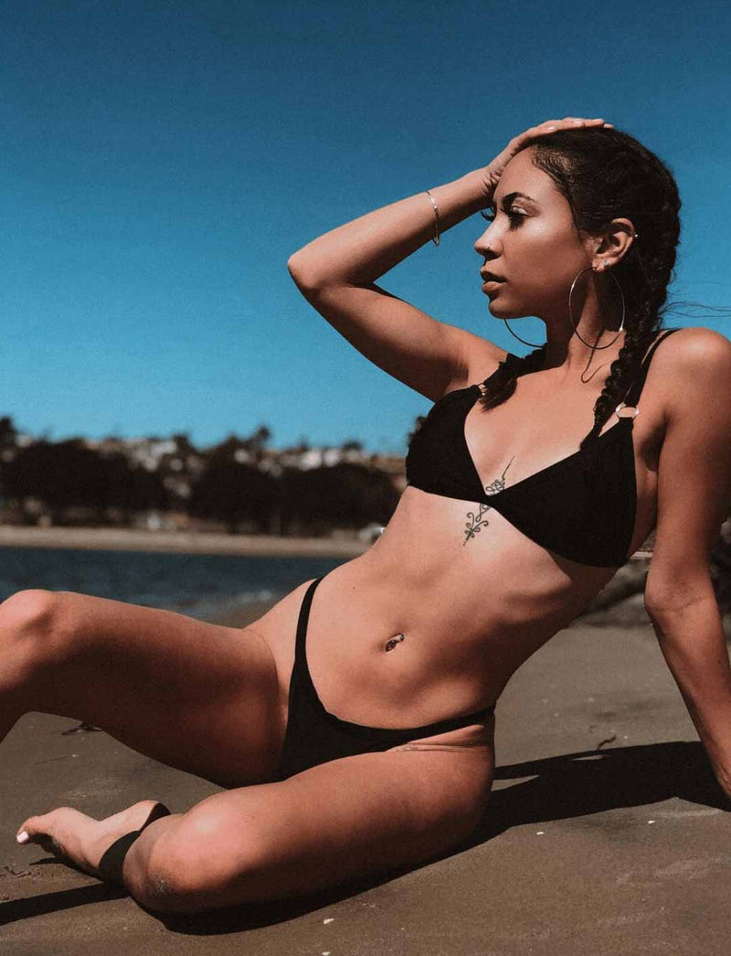Zahara Swim Fantasy Tri Collection | Black