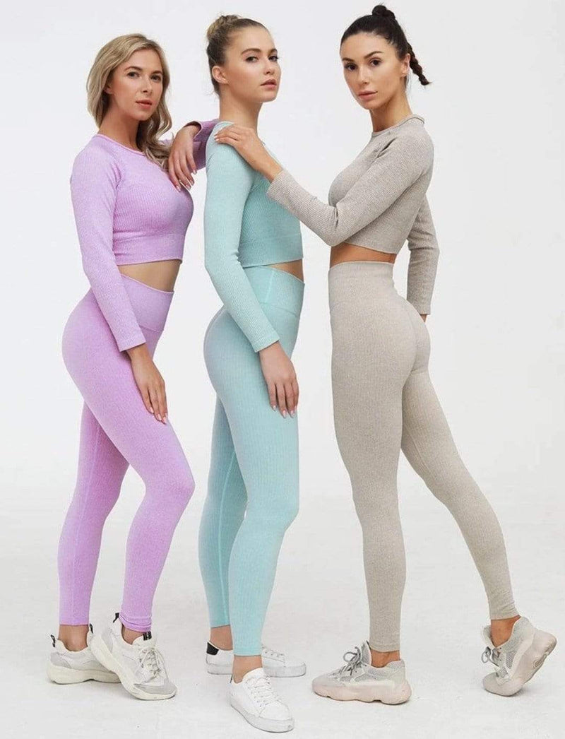 Zahara Swim fit Namaste Long Sleeve / Lavender